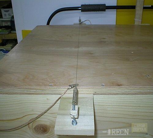 Как сделать станок для резки пенопласта фото 798