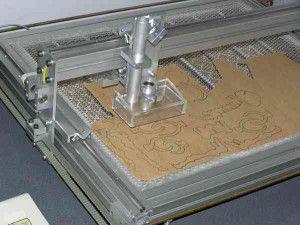 Лазерный станок для обработки фанеры