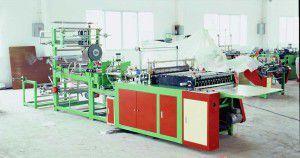 Производственная линия по изготовлению полиэтиленовой упаковки