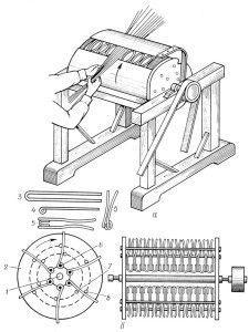 барабанный станок для механической окорки