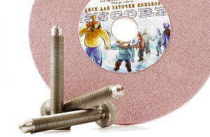 диск и алмазный карандаш