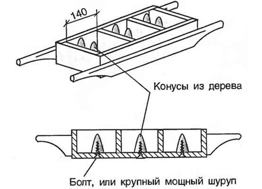 другой вид форм для шлакоблоков