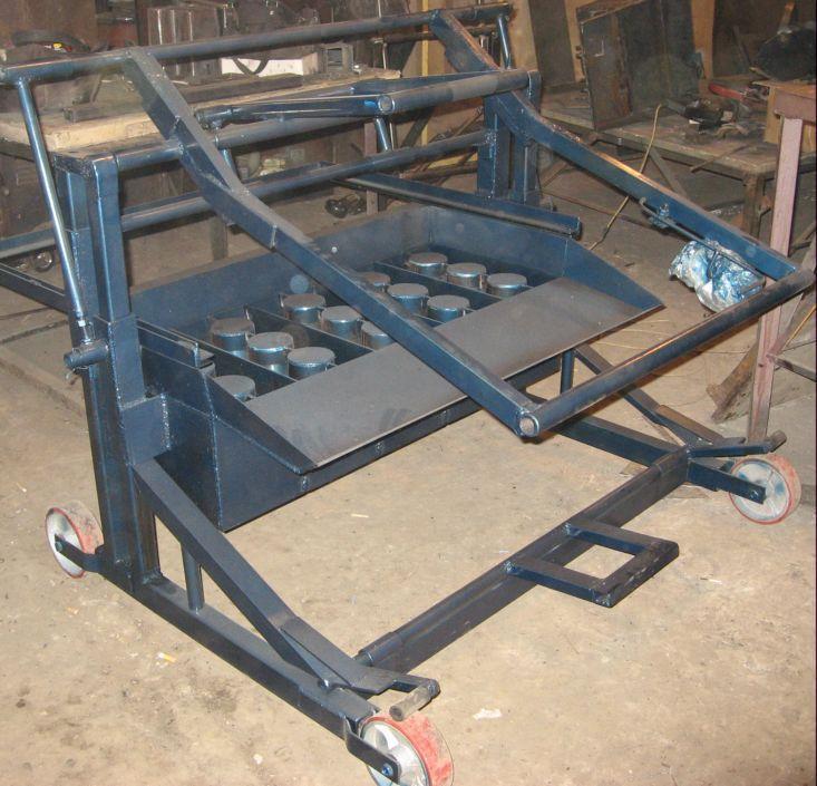 Станки для изготовления блоков в домашних условиях