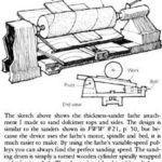 Шліфувальний верстат своїми руками для дерева