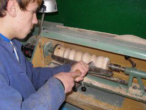 Работа на универсальном токарном станке