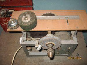 комбинированный станок для заточки свёрл и не только