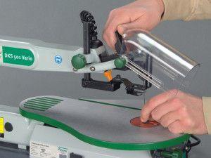 Установка пилки в лобзиковый станок