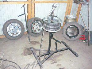 Подготовка к началу установка шины