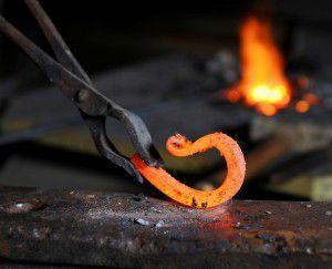 Процесс горячей ковки