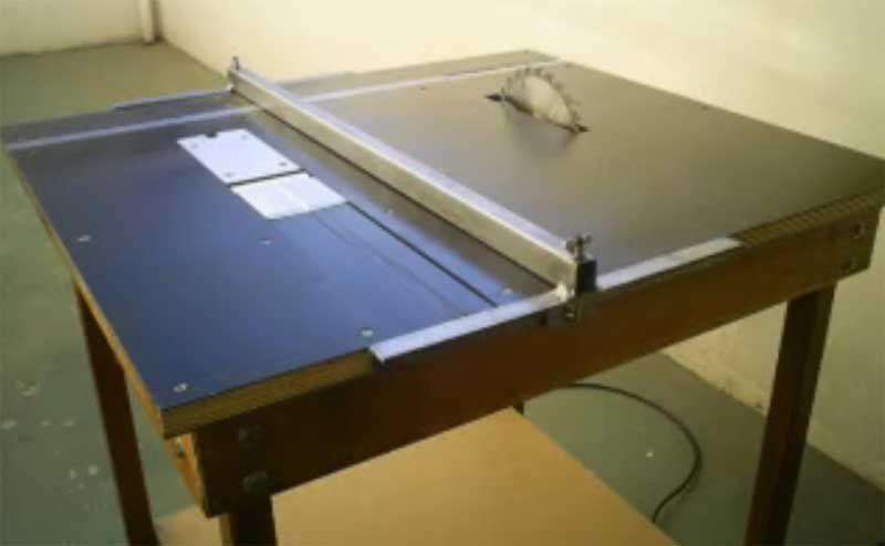 Как сделать стол для циркулярки своими руками чертеж