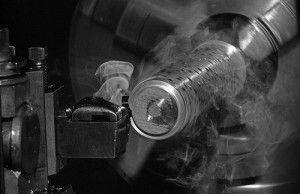обработка детали из нержавейки на токарном станке