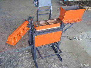 Комплекс оборудования для изготовления тротуарной плитки