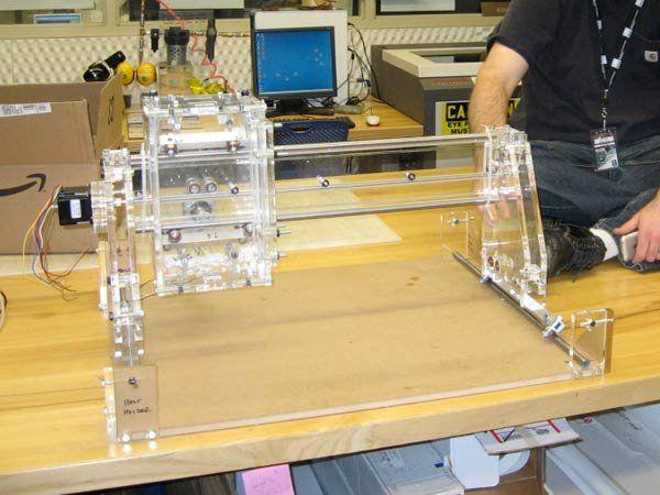 Станок чпу своими руками из принтера