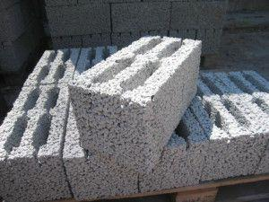 Внешний вид керамзитобетонного блока