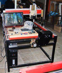 Оборудование для фрезерной обработки с ЧПУ