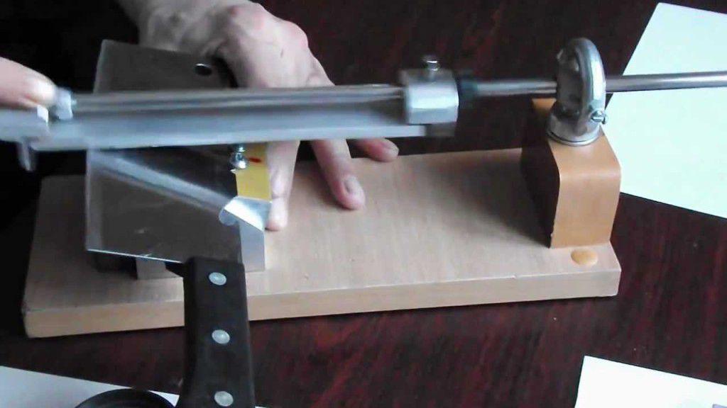 Как сделать станок для заточки ножа