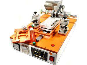 полуавтоматический станок для разборки сенсорных экранов