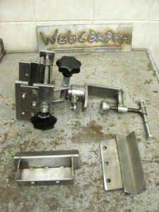 самодельные тиски с дополнительными губками для труб, подробное описание изготовления ниже