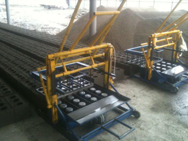 Станок для производство блоков своими руками