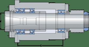 шпиндельный узел обрабатывающего центра