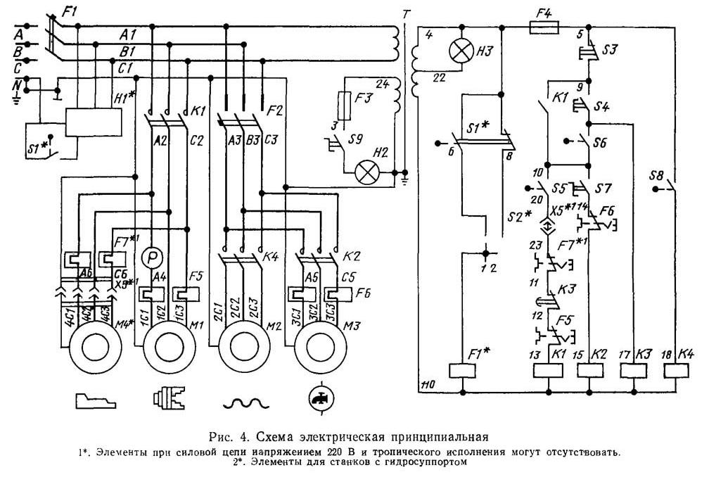 Электроаппараты электрические схем