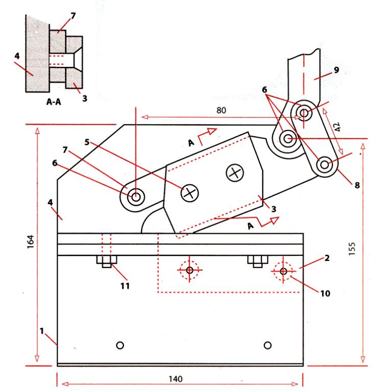 Роликовые ножницы для резки листового металла своими руками чертежи