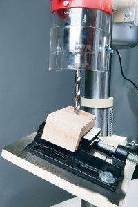 Обработка деревянной заготовки под углом
