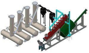 производство топлива из автомобильных покрышек