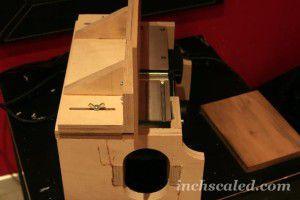 компактный фуговальный станок из электрорубанка