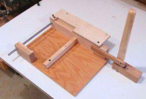 площадка для фрезера с продольным рычагом