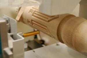Обработка деревянной заготовки