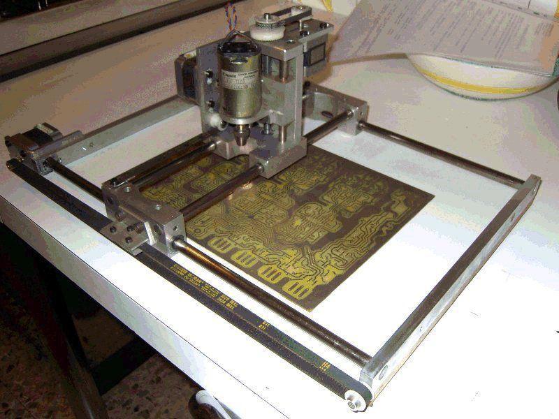 Фрезерный станок с чпу по дереву своими руками из принтера 45