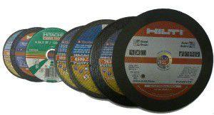 Виды отрезных дисков