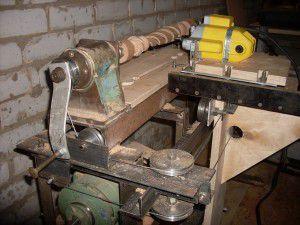 Пример самодельного токарно-фрезерного станка