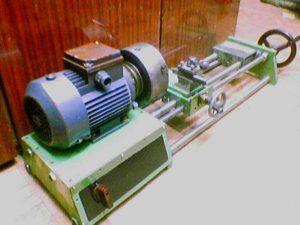 Пример установки электродвигателя