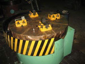 Планшайба токарная карусельного станка